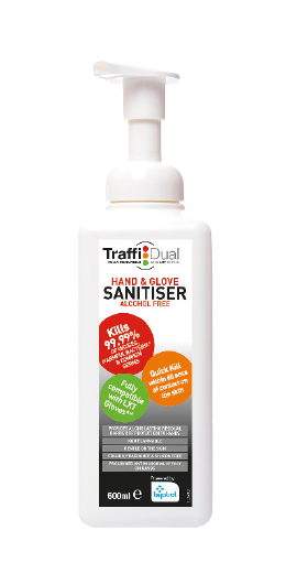 TDS600 Dual Hand Foam Sanitizer Alcohol Free 600ml TDS600