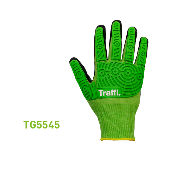 TG5545 Impact Protection Cut E Nitrile Glove