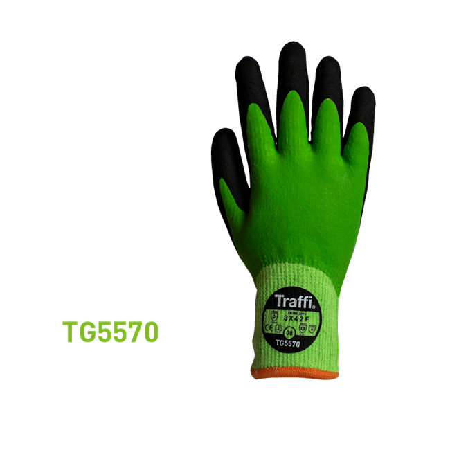 TG5570 X-Dura Latex Waterproof Glove