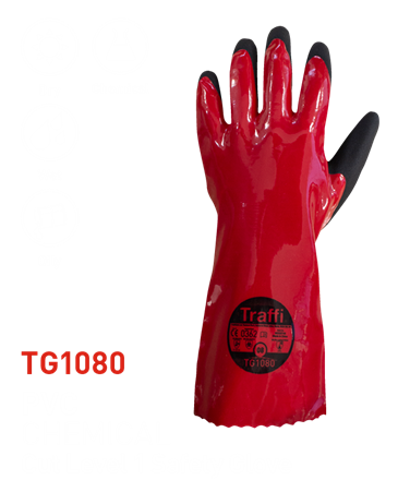 TG1080 PVC Chemical Glove/Gauntlet