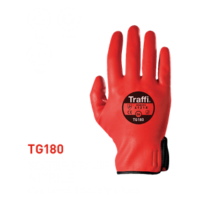 TG180 Waterproof Nitrile Full Dip Glove